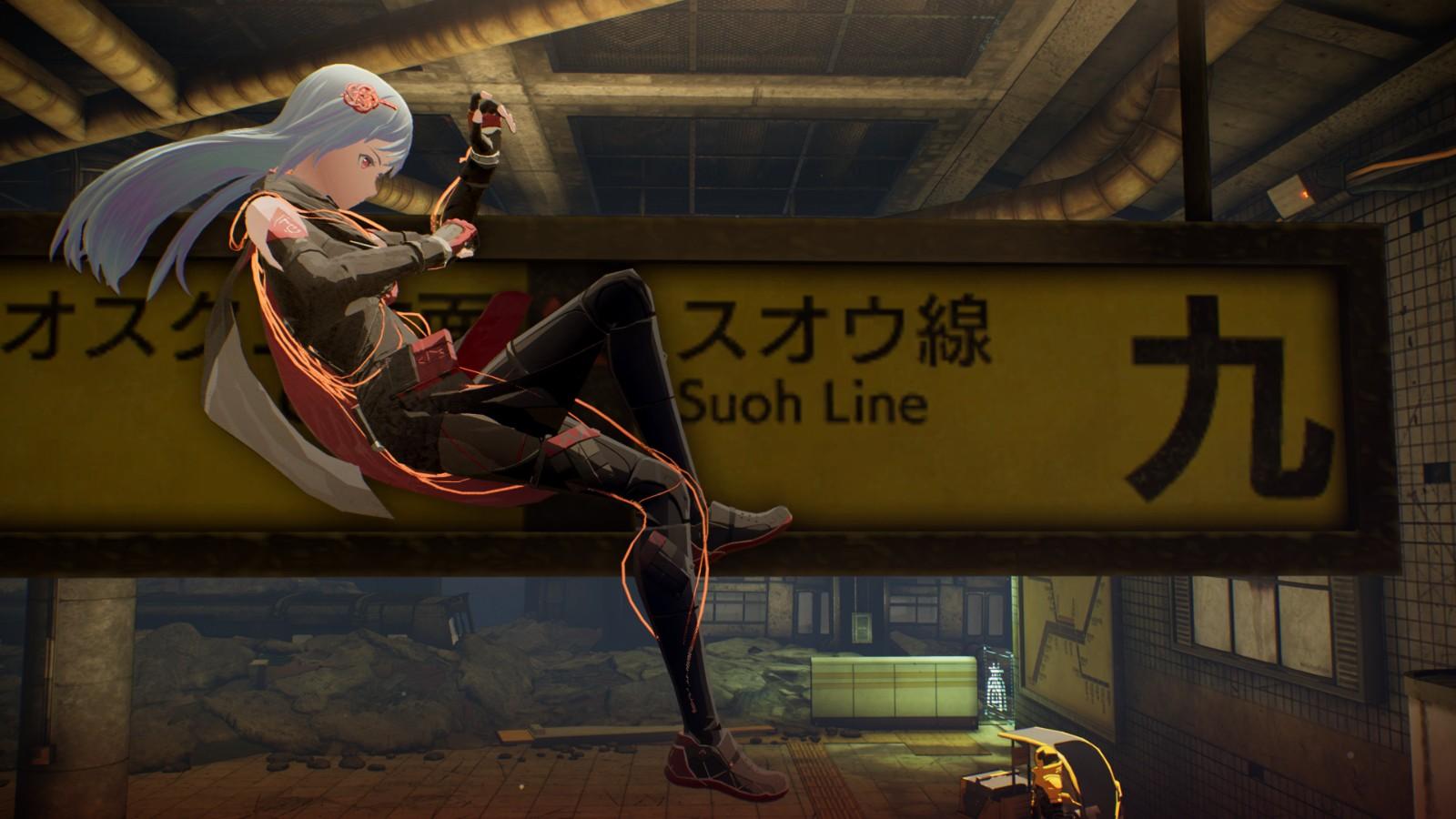 万代《绯红结系》新截图 展示游戏角色和技能等