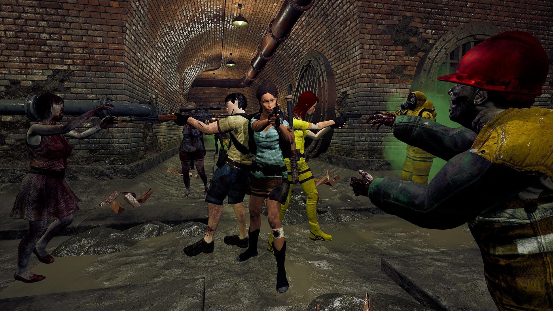 VR僵尸生存游戏《SURV1V3》Steam正式发售 国区定价80元