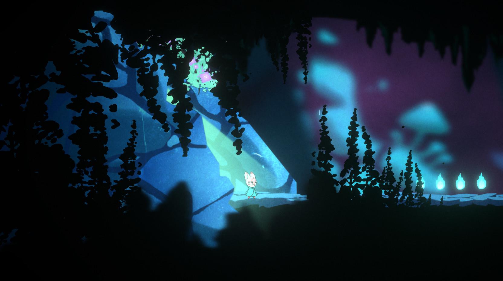 日本神话2D平台冒险游戏《杖》Steam页面上线 计划2022年发售