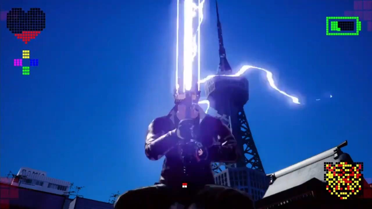 《英雄不再3》激光剑演示 超尬充电动作仍然健在