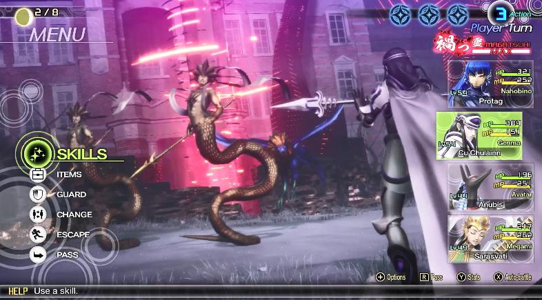 Atlus公布《真女神转生5》新演示影像 11月上市