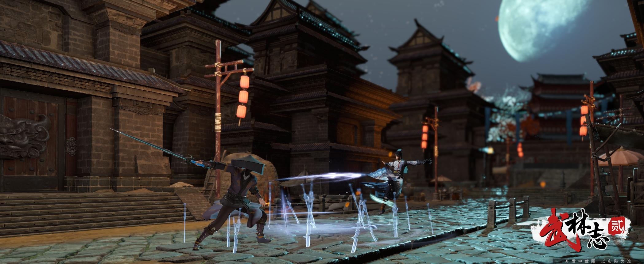 独立游戏《武林志2》Steam新品节讲中国故事,全球5万玩家体验国风武侠