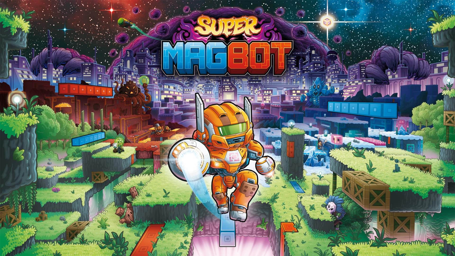 别出心裁的2D平台游戏 《超级磁力机器人》登录PC和NS平台