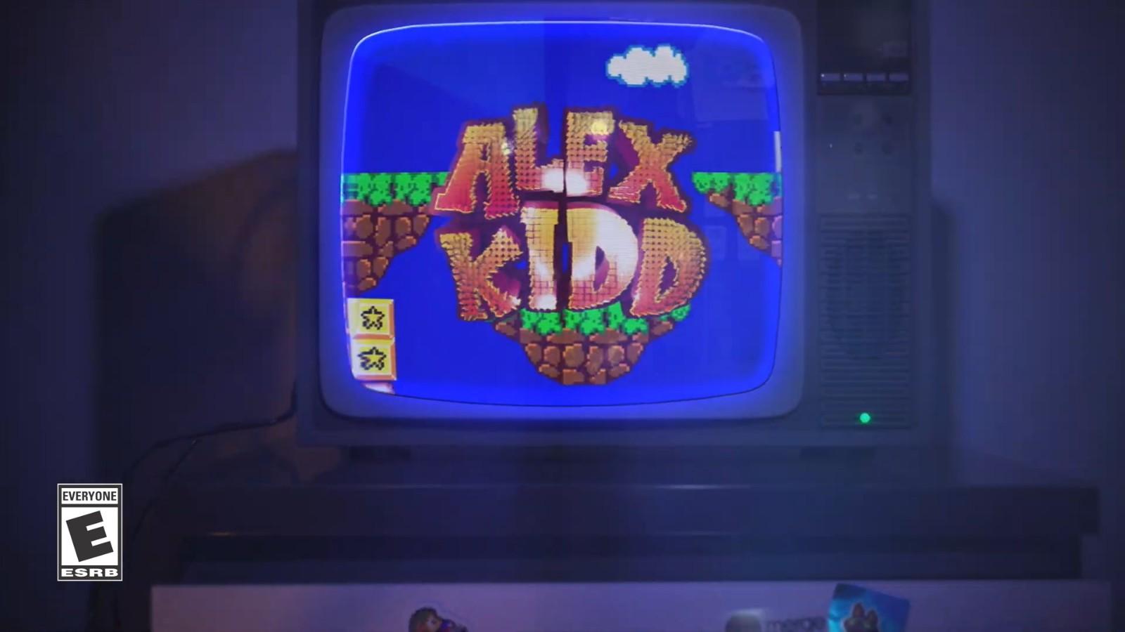 《阿历克斯小子奇幻世界大冒险 DX》发售预告 世嘉经典重制