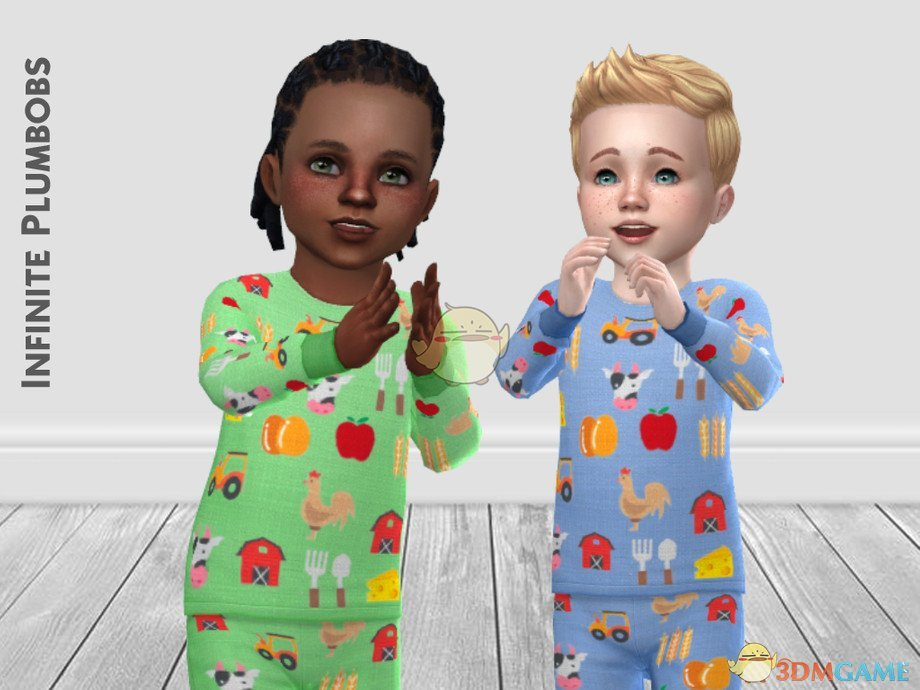 《模拟人生4》幼儿农场主题睡衣MOD