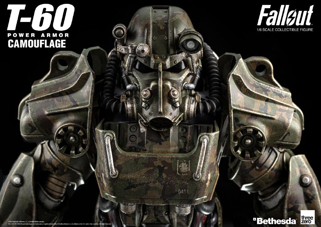threezero《辐射4》T-60动力装甲1/6人偶 定金800元