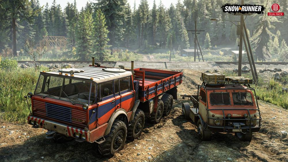 《雪地奔驰》迎来自己的第一个欧洲卡车制造商,并推出TATRA Dual Pack