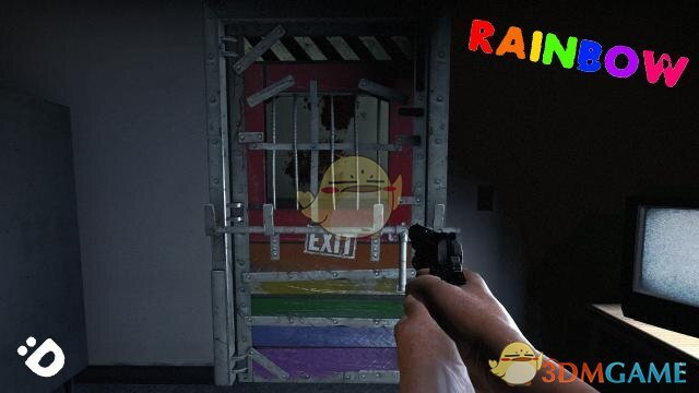 《求生之路2》彩虹色安全门MOD