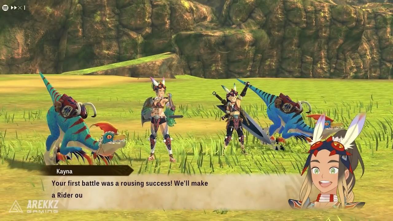 《怪物猎人物语2:扑灭之翼》PC版新演示 战役安慰