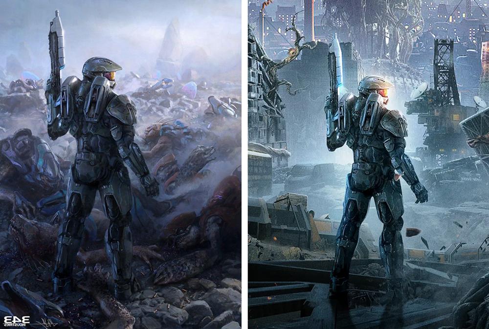 Xbox官微回应《光环》被抄袭:我们不天马行空