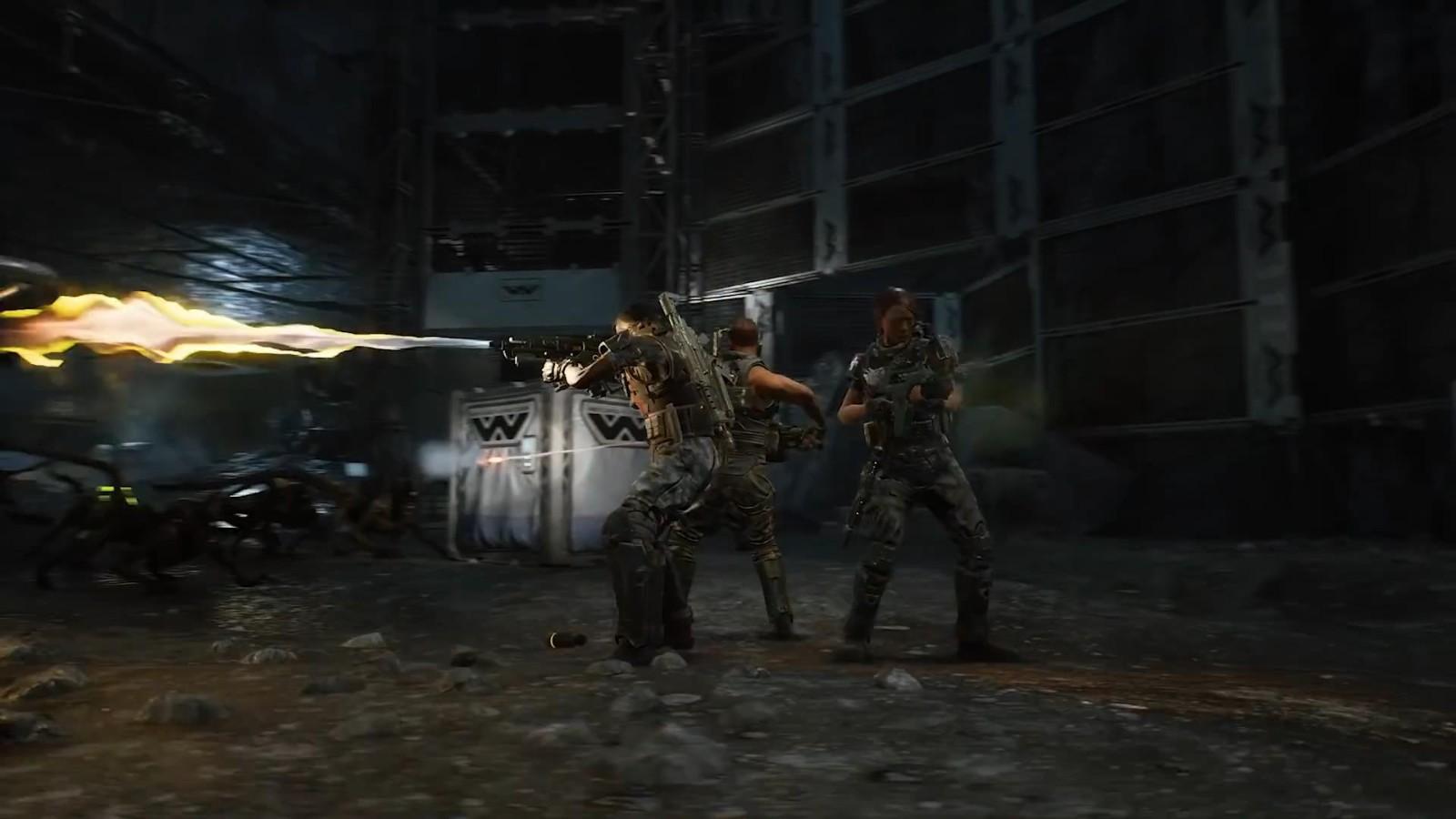 《异形:火力小队》新预告片 激烈对抗异形