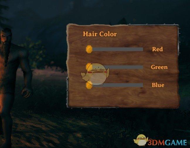 《Valheim:英灵神殿》更多发色——角色创建扩展MOD