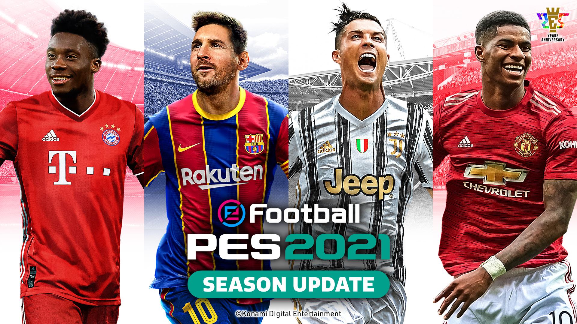 科乐美新足球游戏通过评级 或为《实况足球2022》