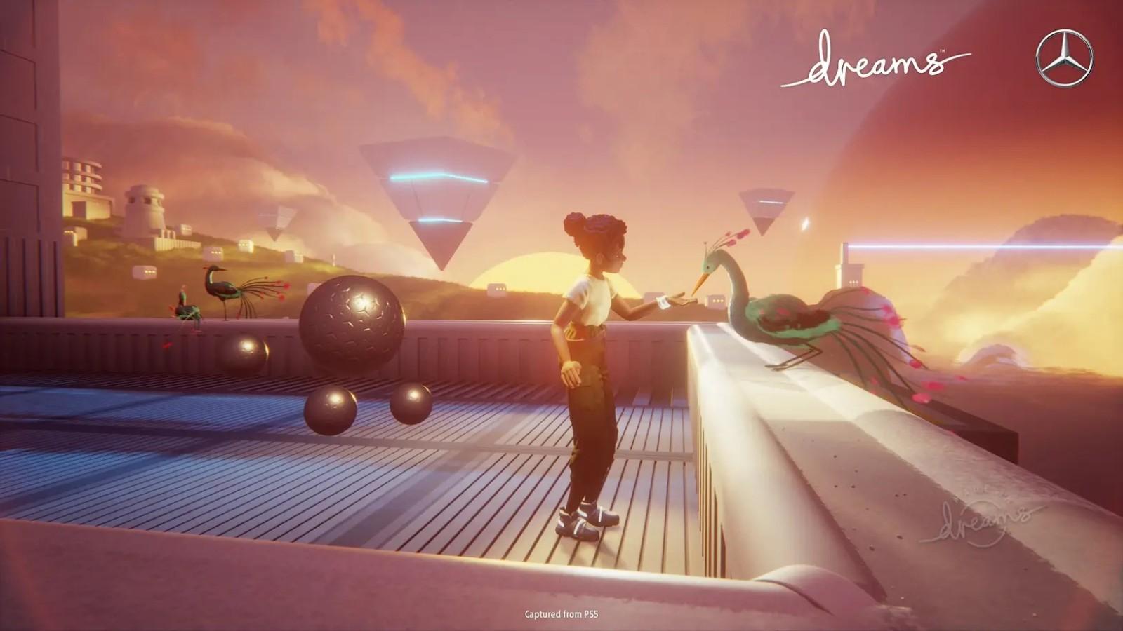 《Dreams》与梅赛德斯奔驰联动预告 畅想未来