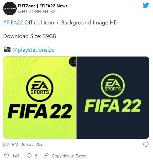 《FIFA22》测试因泄露被EA终止 玩法和图标已流出
