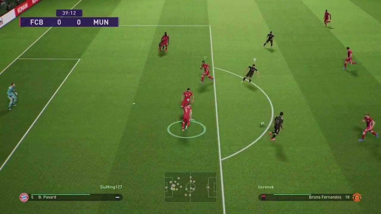 《实况足球2022》测试版实机演示 采用虚幻4引擎