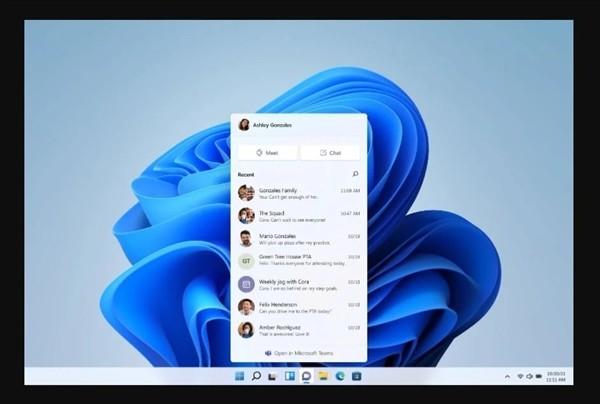 Windows 11正式宣布!开始菜单史上第一次居中