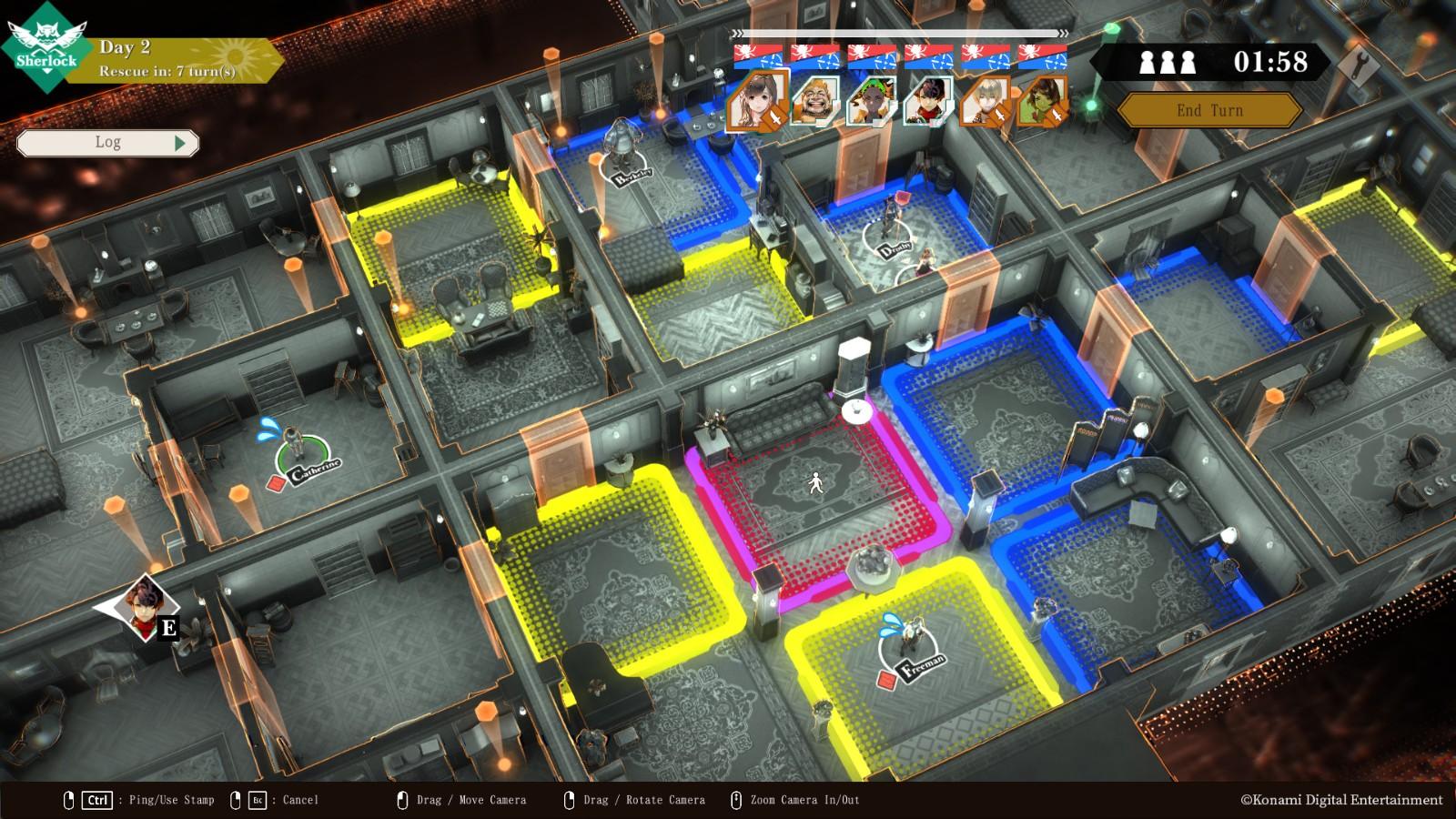 科乐美全新推理游戏《CRIMESIGHT》即将登陆Steam