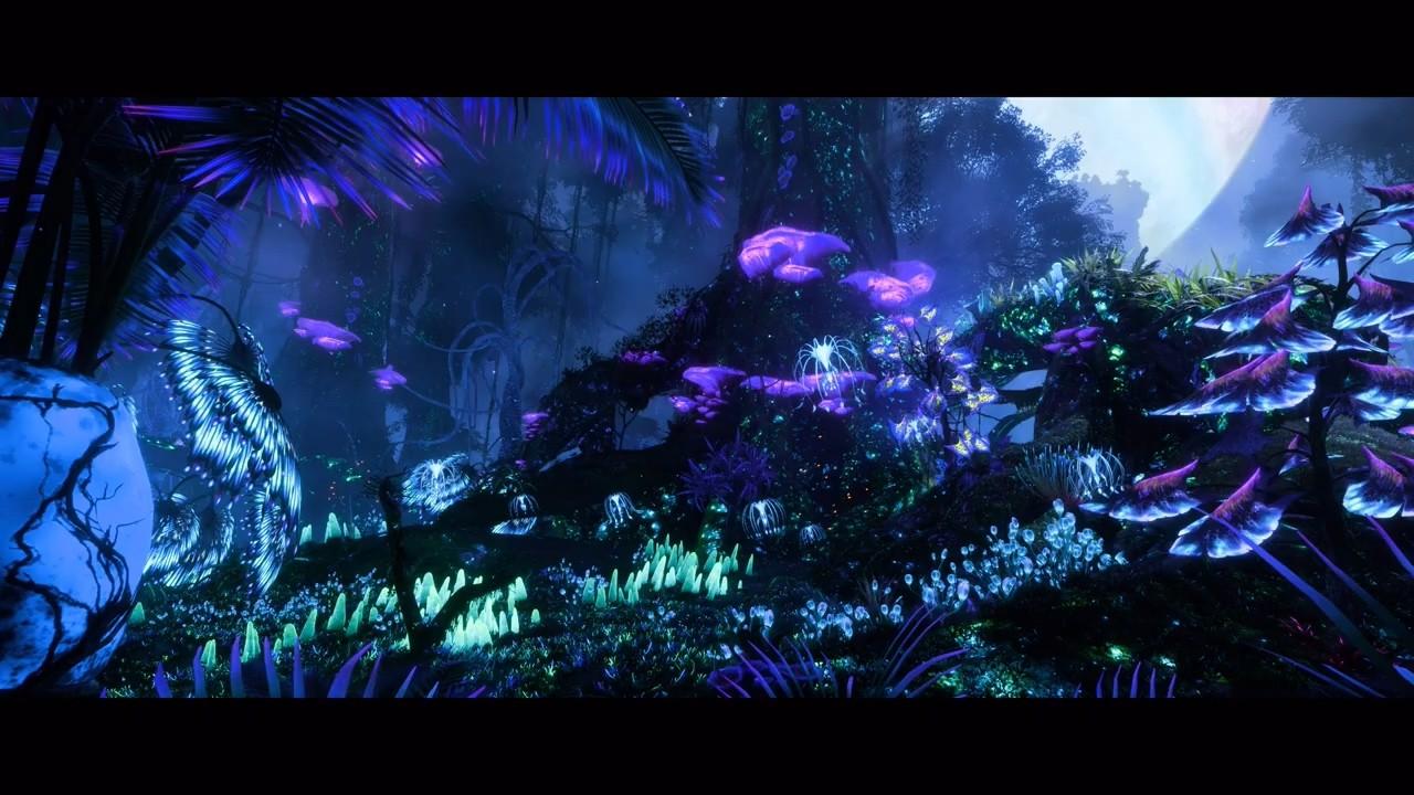 《阿凡达:潘多拉边境》引擎展示视频 支持光追全局光照和反射