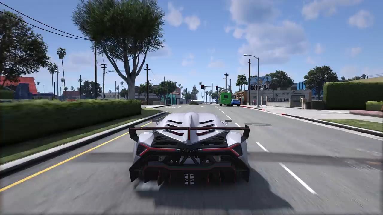 RTX3090运行《侠盗猎车5》8K画面 视觉效果惊人