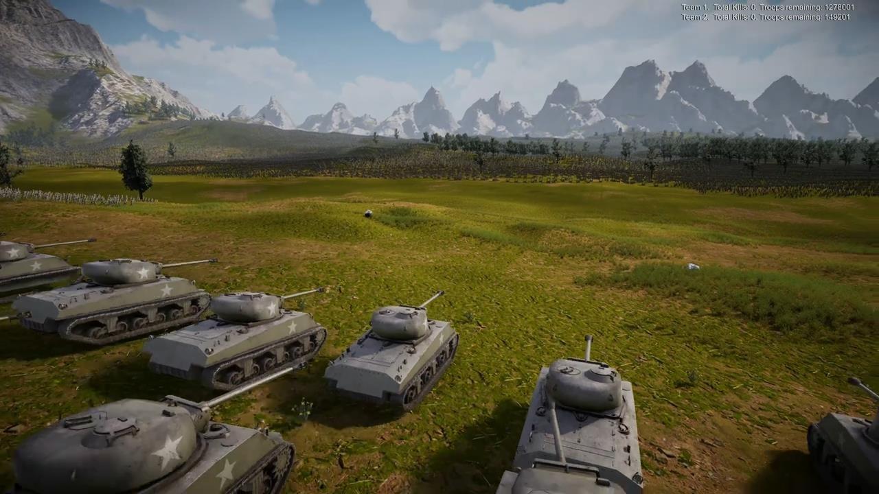 《史诗战争模拟器2》新演示 中世纪军队大战二战士兵