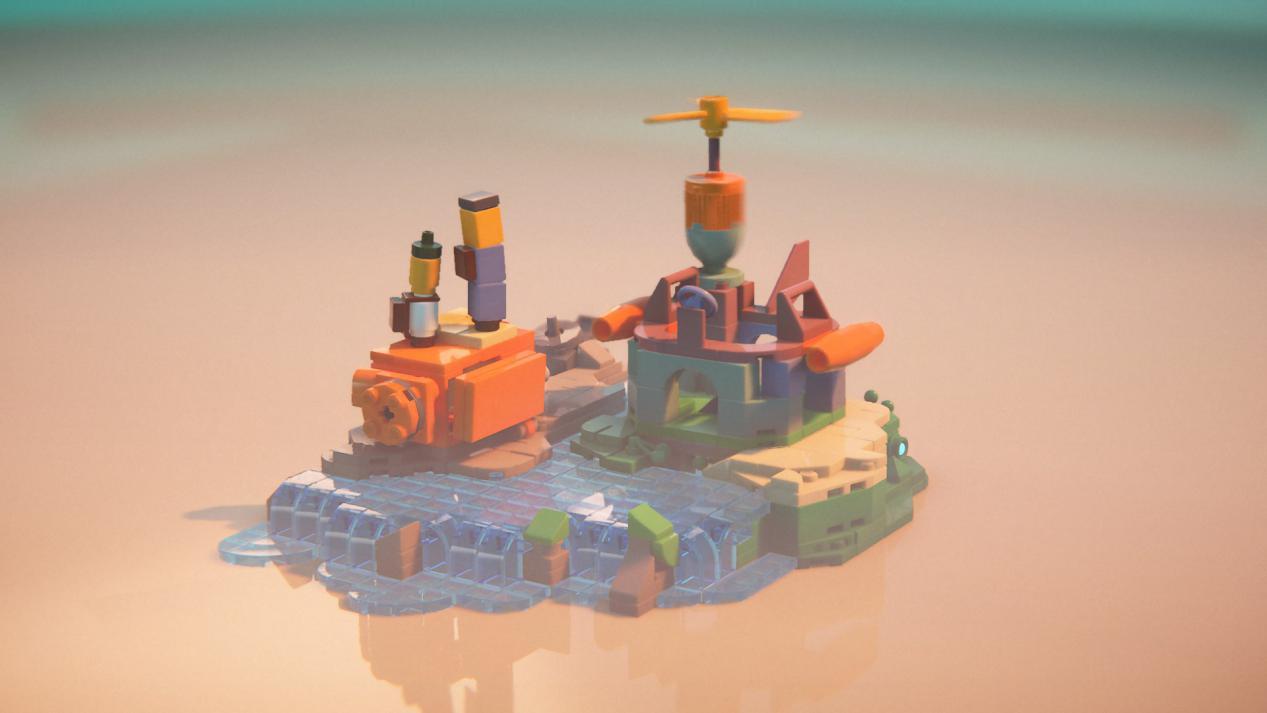 《LEGO建造者之旅》评测:乐高盆景上的亲子互动剧