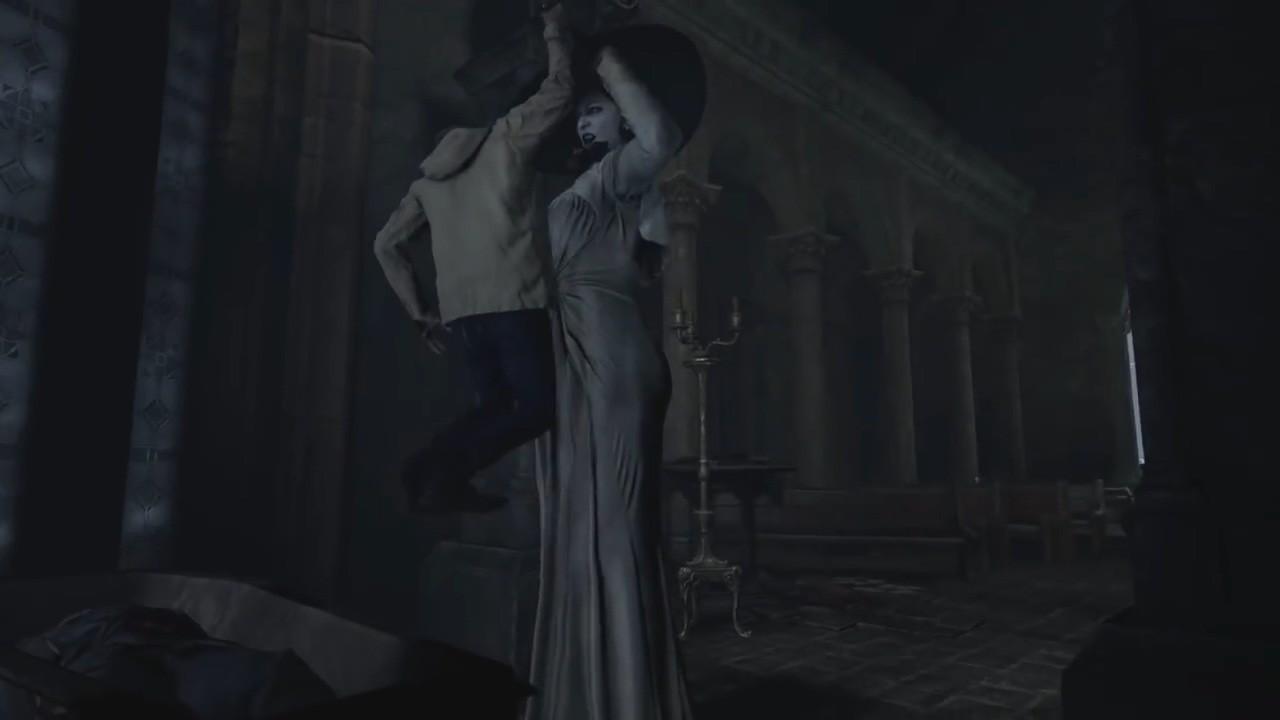 无头战神!《生化危机8》镜头解锁之后的画面