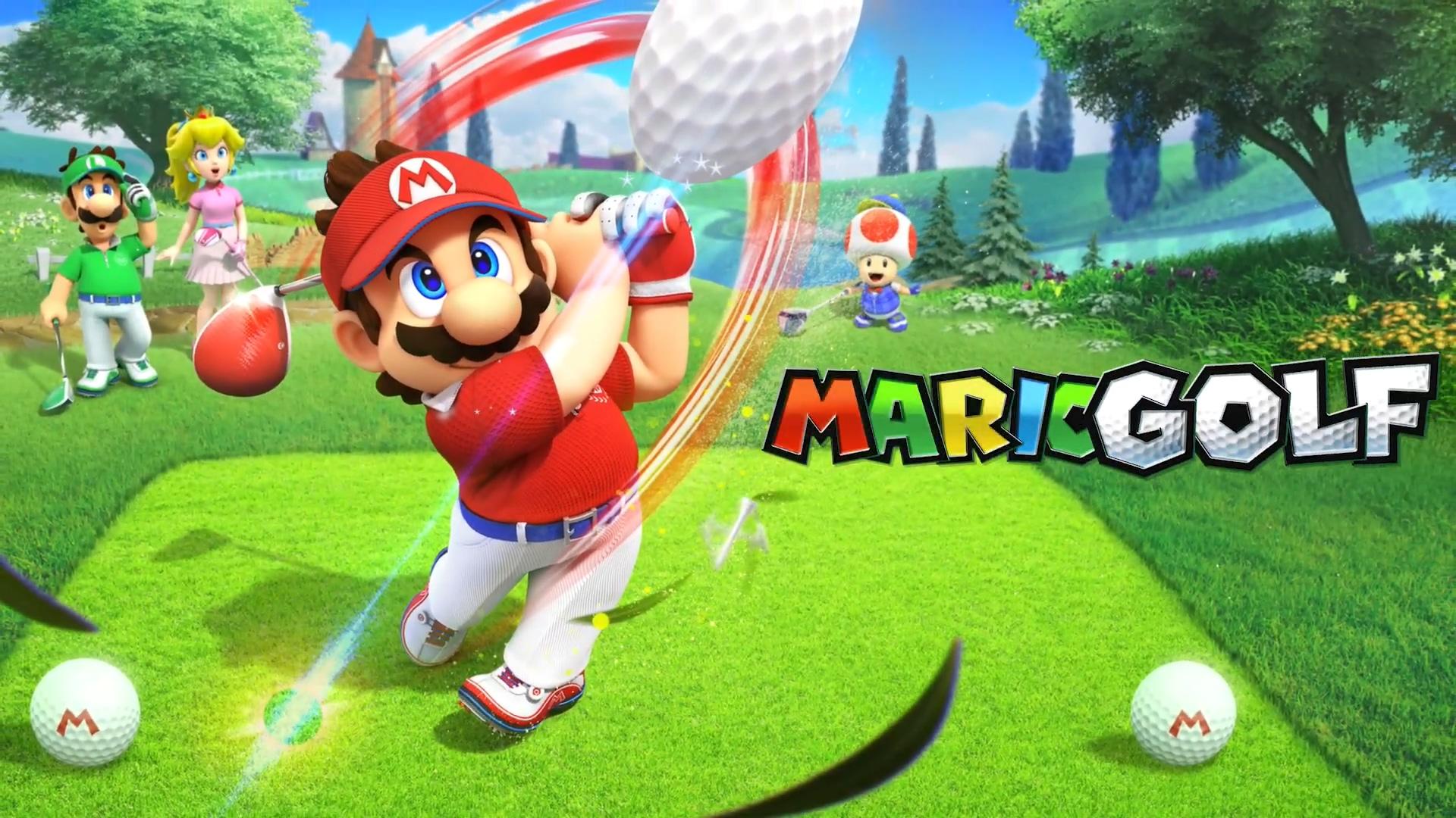 史上最闹高尔夫 《马里奥高尔夫:超级冲刺》新预告