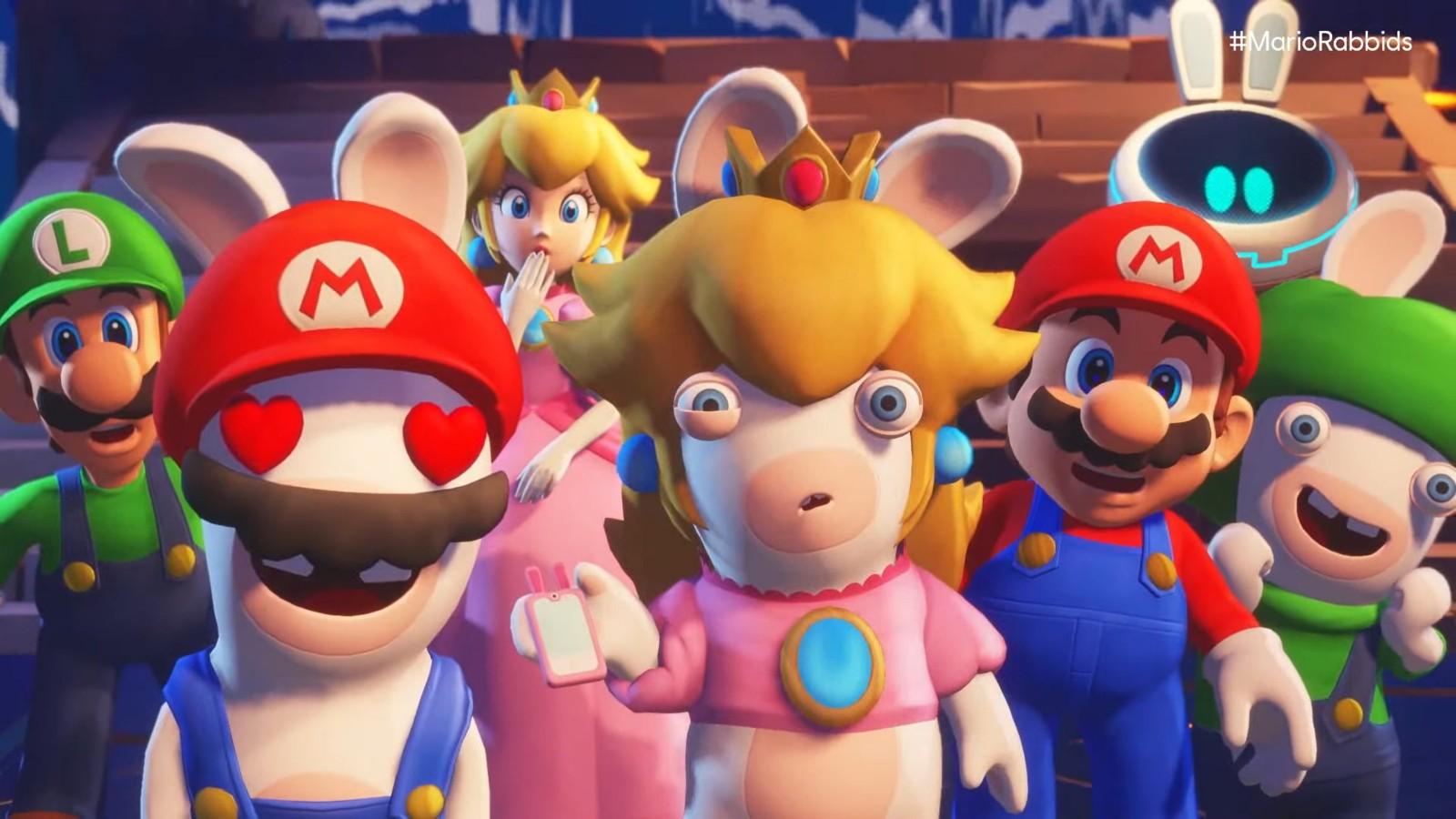 《马里奥和疯狂兔子:星耀之愿》开发团队近300人