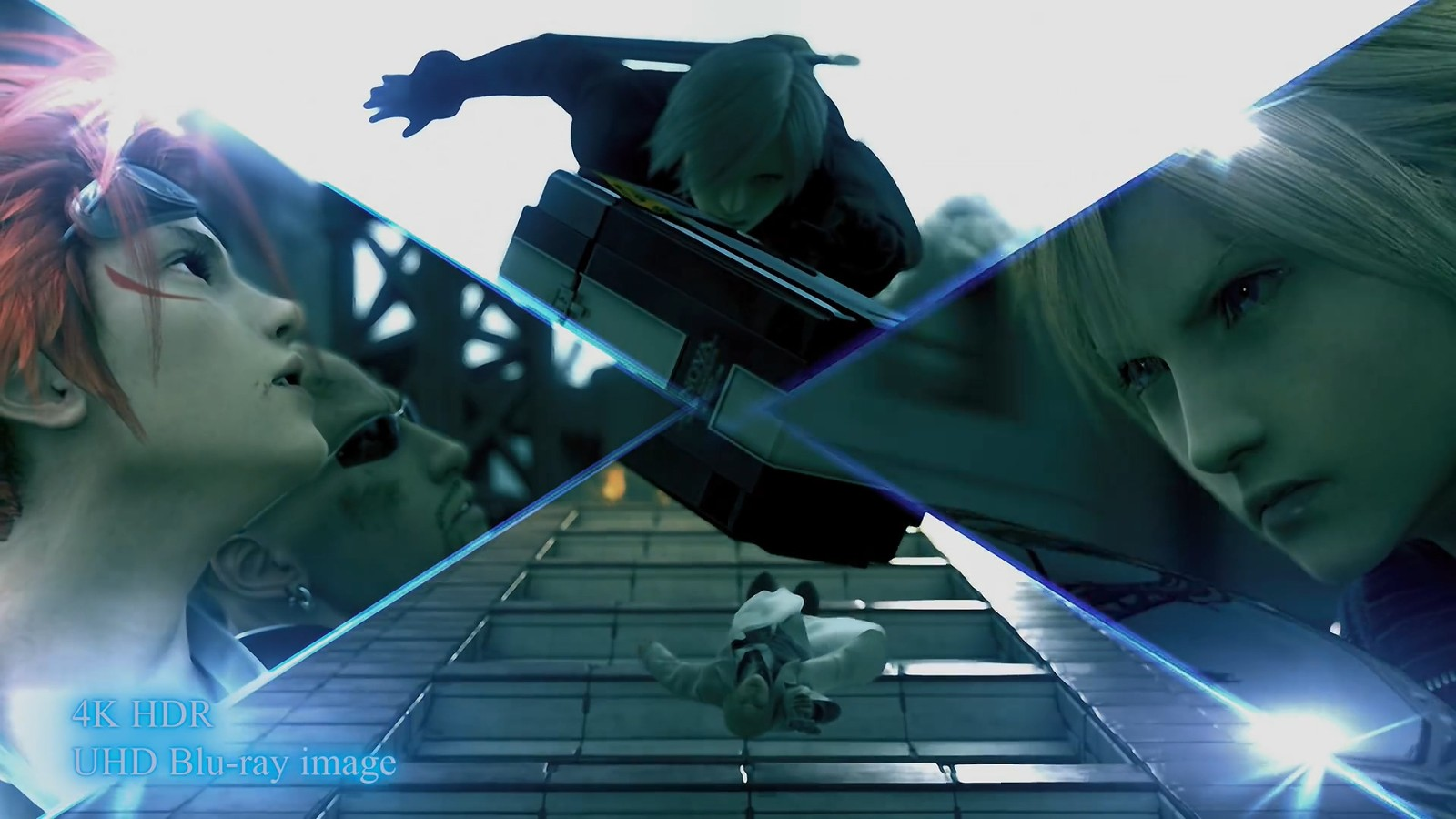 SE发布《最终幻想7:圣子降临》4K版对比视频