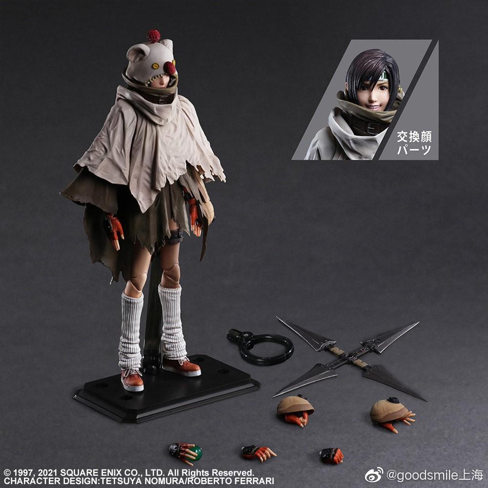 PA改《最终幻想7:重制过渡版》索侬/尤菲手办 售价987元