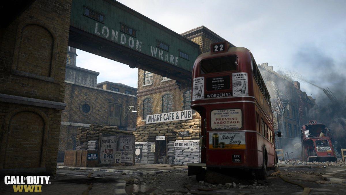 传《使命召唤》新作伦敦码头等经典地图将回归