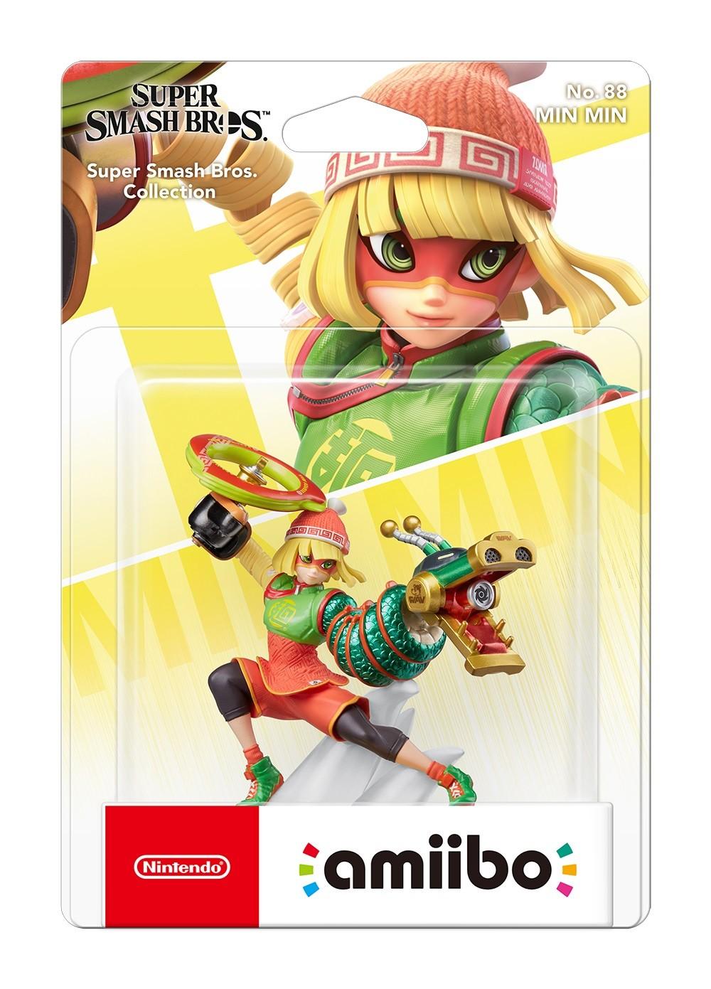 《ARMS》拉面美少女面面Amiibo将于2022年推出