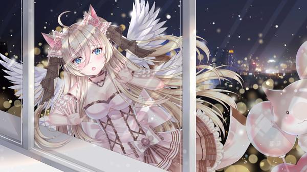 可爱风视觉小说《夏恋幻梦》上架Steam 今年上市