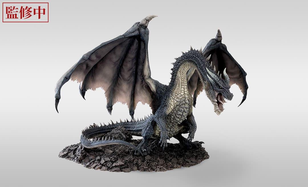 """《怪物猎人》系列15周年""""黑龙""""限定手办实体图公布 12月9日正式发售"""