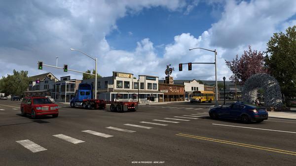"""《美国卡车模拟》DLC""""怀俄明州""""开发版演示公布"""