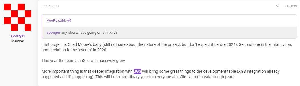 InXile正开发两款游戏的传闻 似乎得到IGN编辑的支持