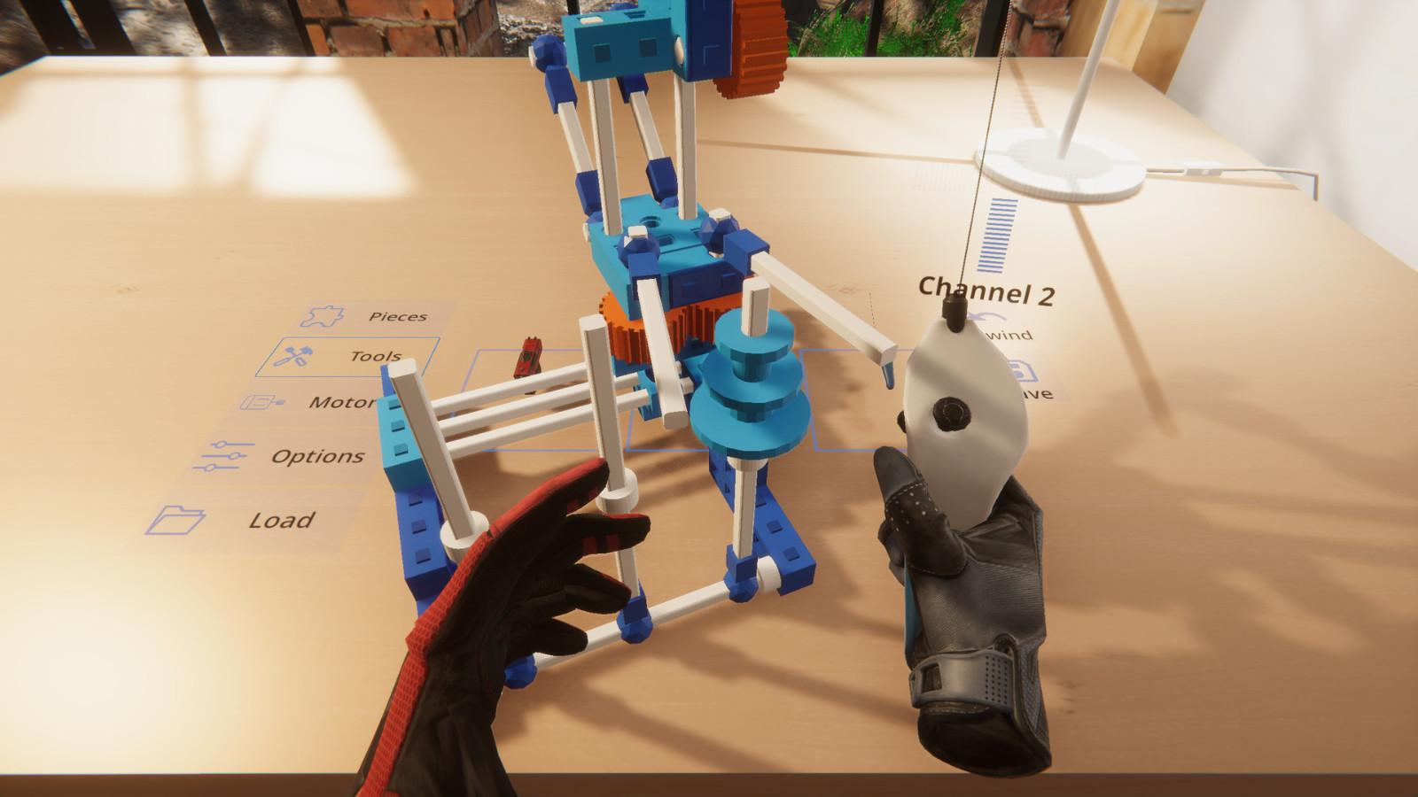 VR乐高机械组游戏《Brickbuilder VR》Steam商店上线