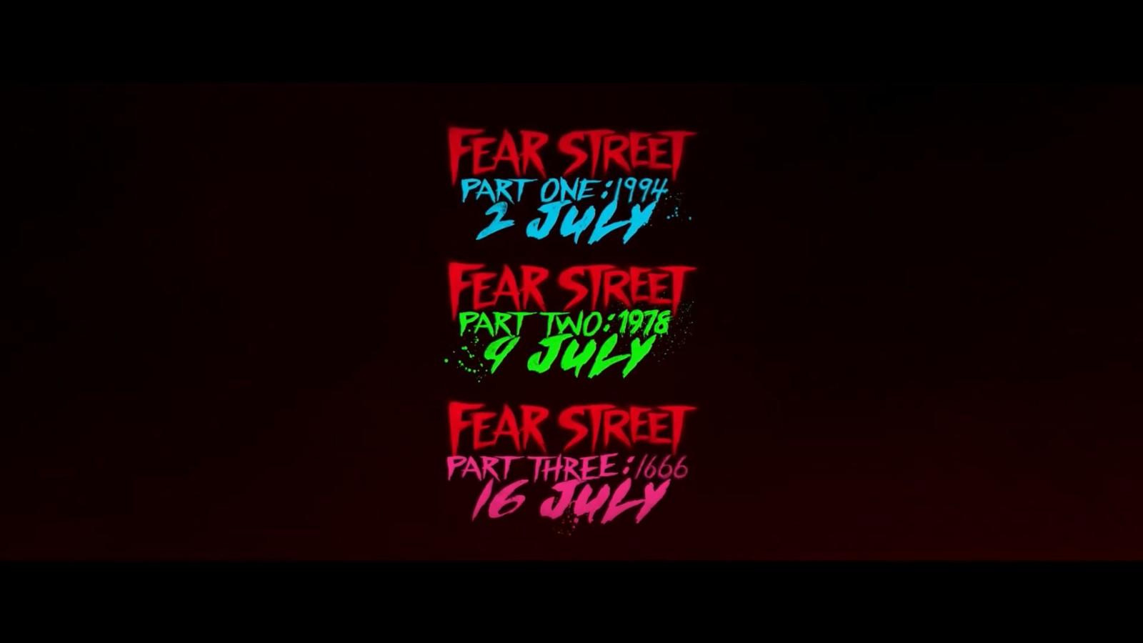 网飞恐怖片《恐惧街:1994》发布正式预告