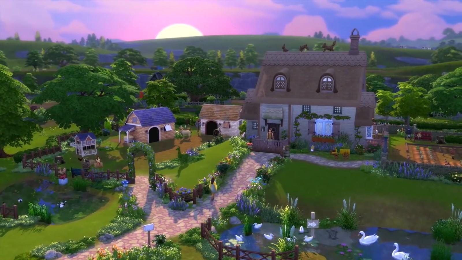 《模拟人生4:乡间生活》玩法预告 7月23日发售