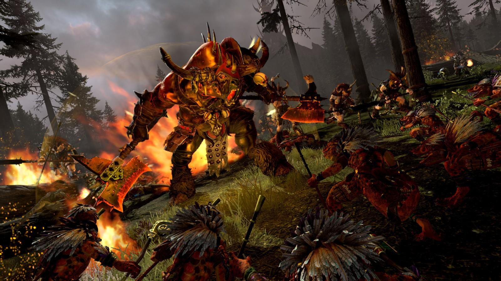 《全面战争:战锤2》新领主包7月14日上线 牛头战蜥蜴
