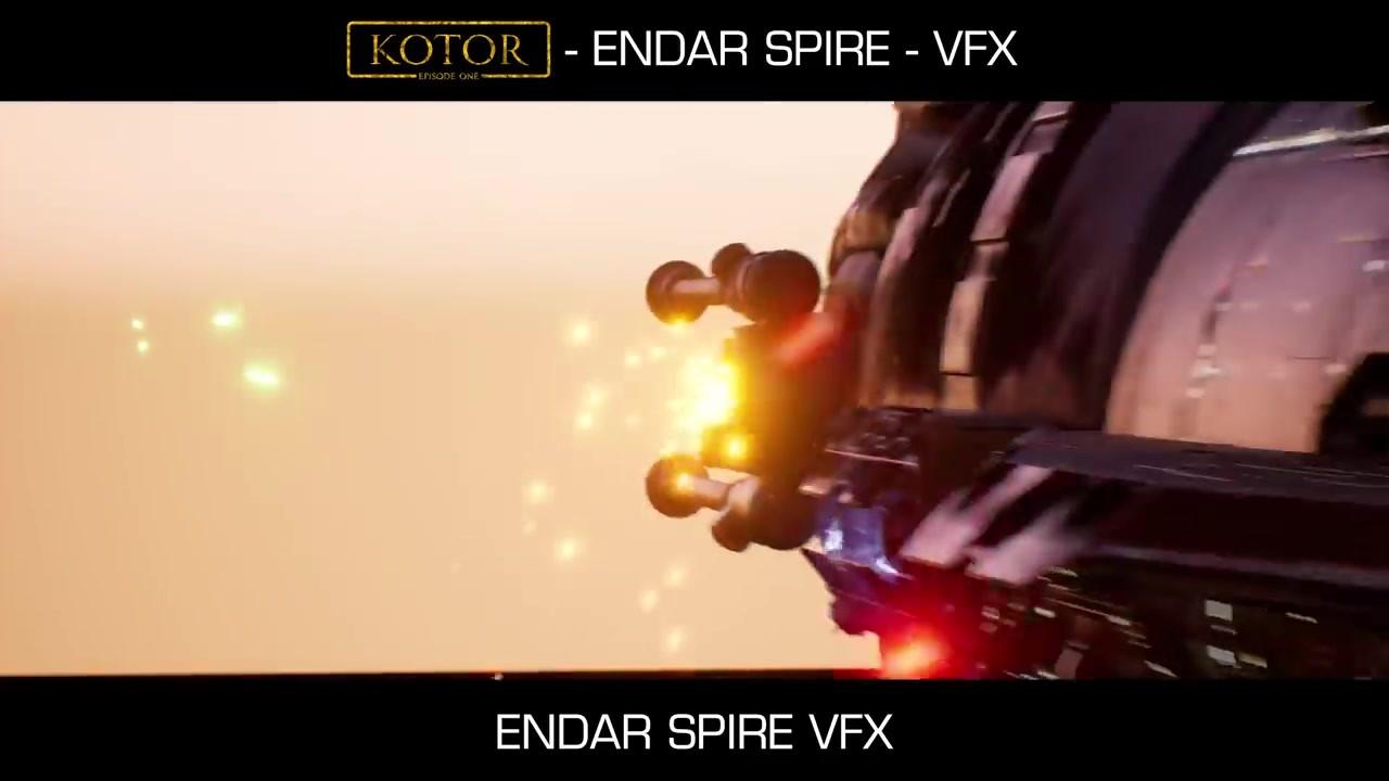 粉丝利用虚幻5自制《星战:旧共和国武士》场景