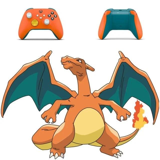 玩家自制精灵宝可梦配色Xbox Series X/S手柄
