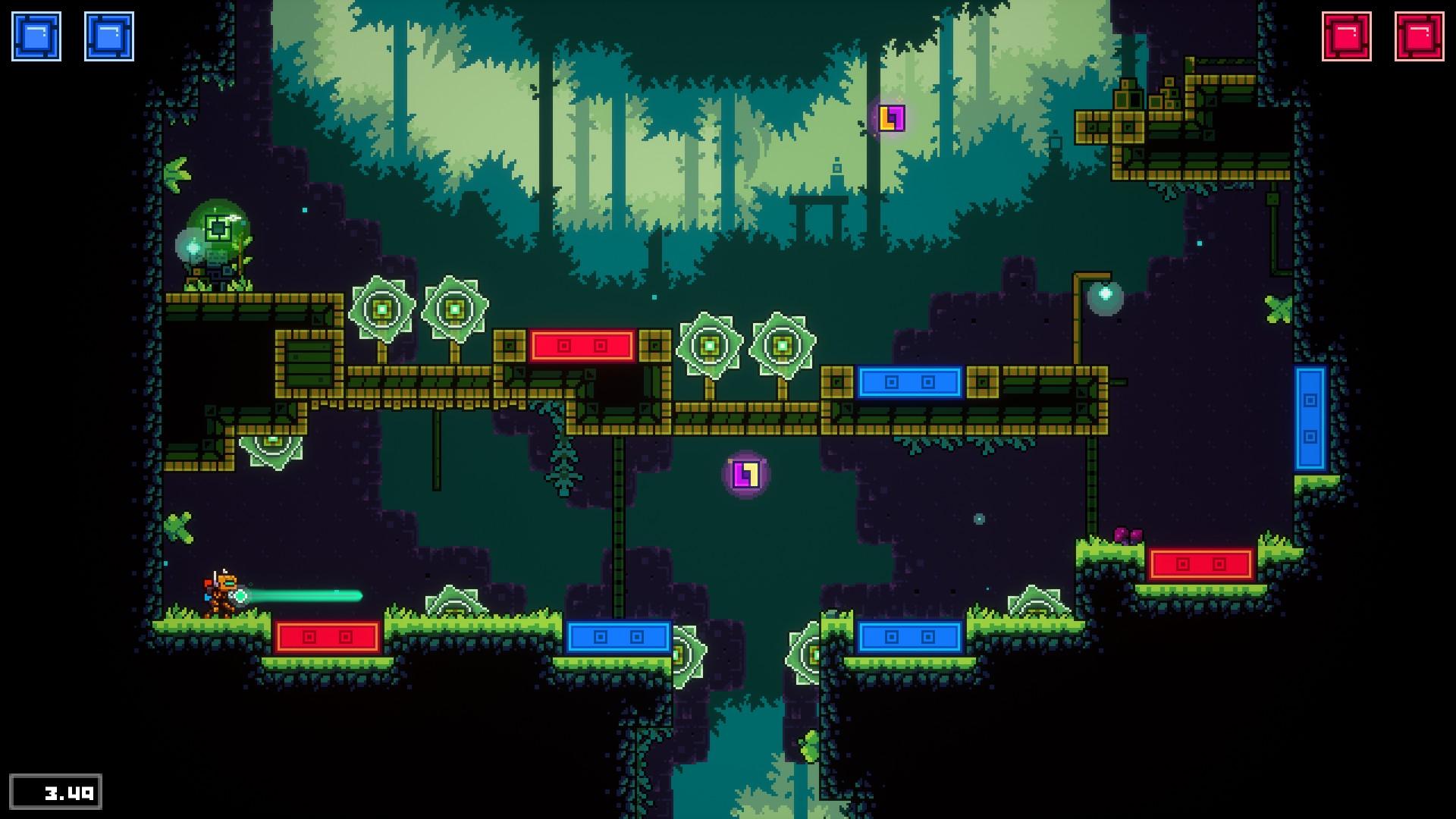 《超级磁力机器人》评测:当平台跳跃游戏不能跳跃