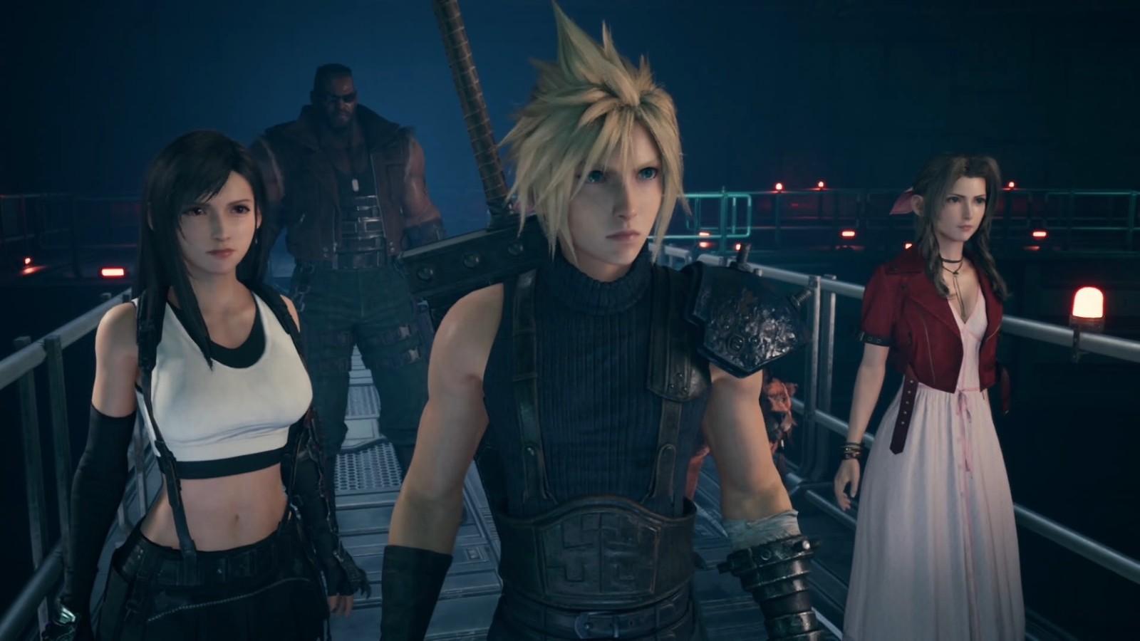 《最终幻想7:重制版》第二章或为开放世界 有新玩法