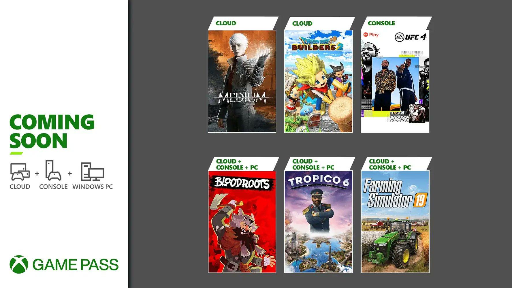 7月份XGP游戏阵容公开 《海岛大亨6》《灵媒》等