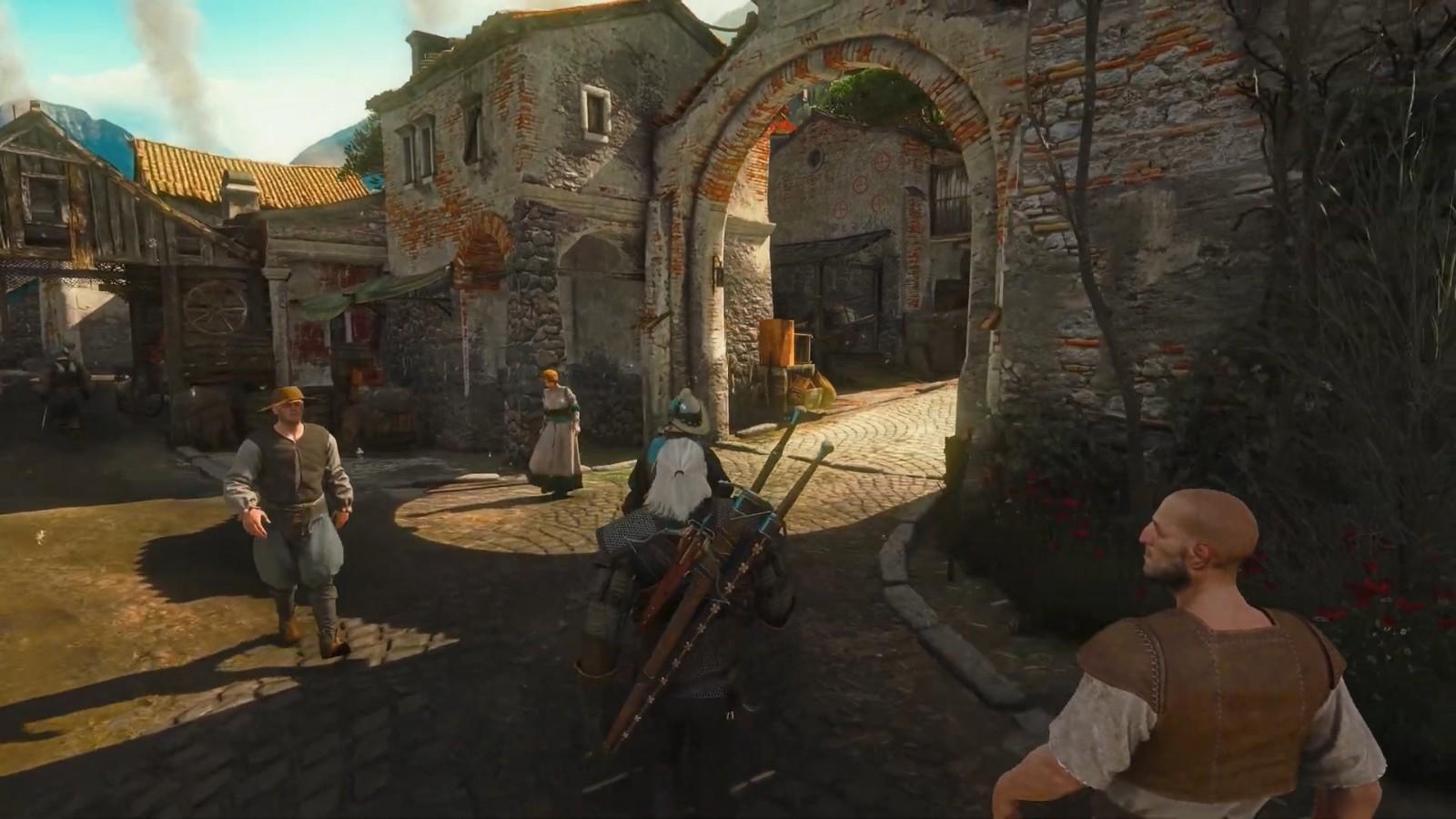 《巫师3》RTX3090、8K光追演示 画面太美
