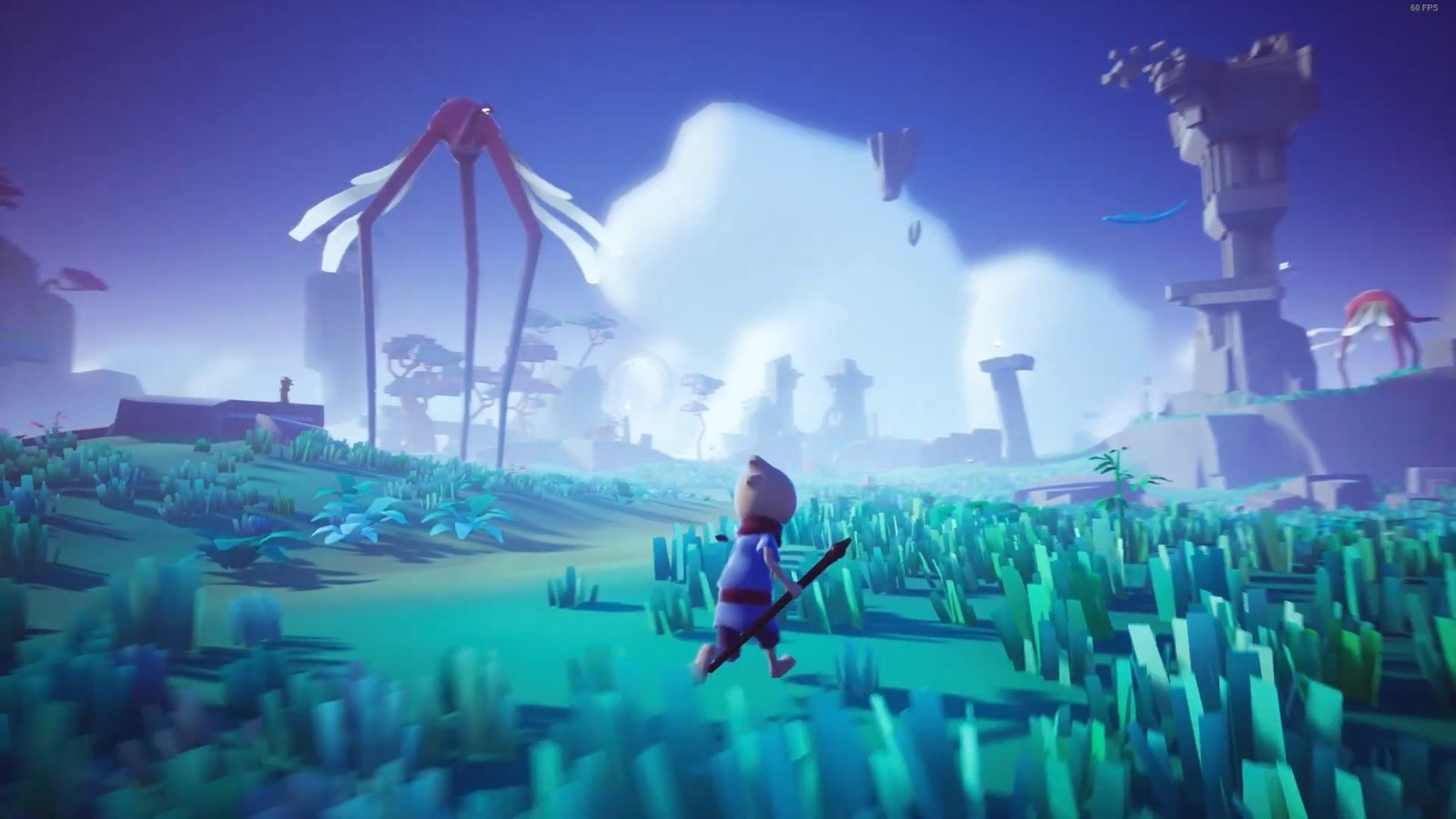 卡通唯美风《Omno》7月29日发售 试玩版已上架Steam