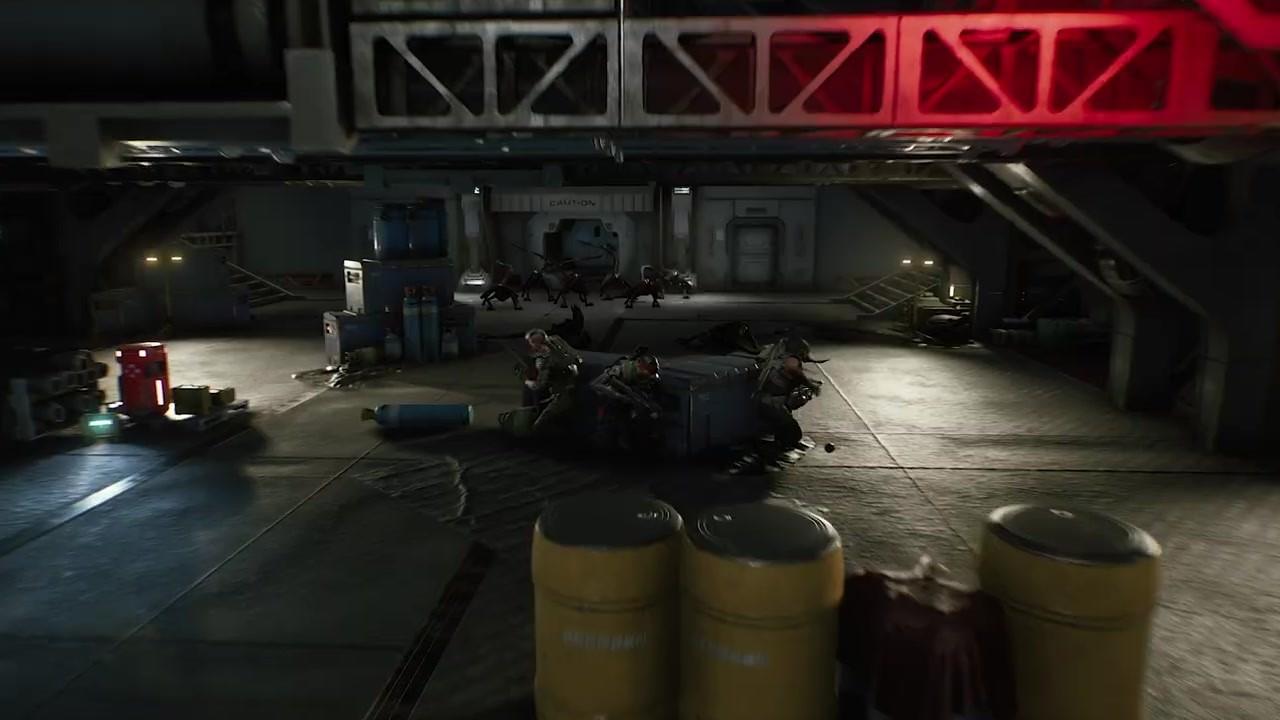《异形:火力小队》全新实机预告片分享