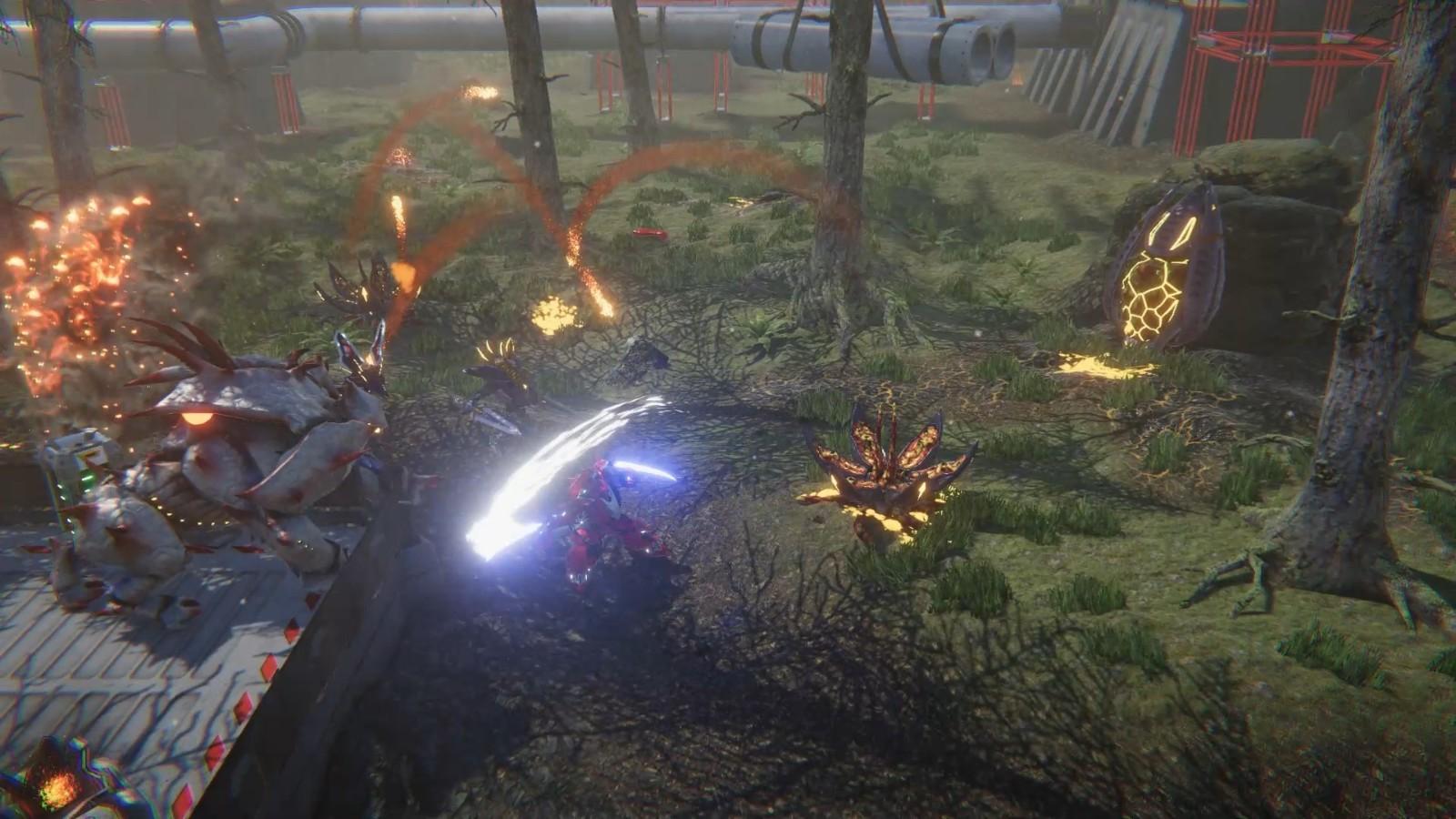 科幻动作游戏《黑风》新预告 今年第四季度发售